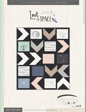 Lost in Space Quilt by AGF Studio