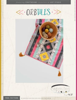 Orbtiles Table Runner by AGF Studio Instructions