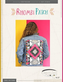 Rhombi Patch by AGF Studio Instructions