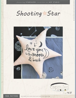 Shooting Star Pillow by AGF Studio Instructions