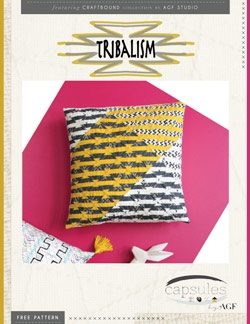Tribalism Pillow by AGF Studio Intructions