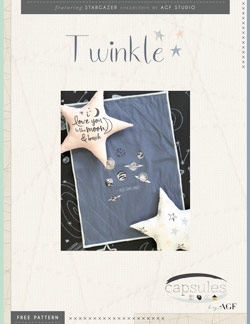 Twinkle Blanket by AGF Studio Instructions