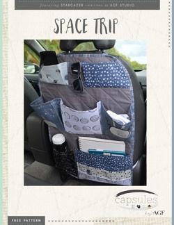 Space Trip Car Organizer by AGF Studio Instructions