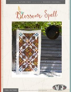 Blossom Spell Table Runner Instructions by AGF Studio