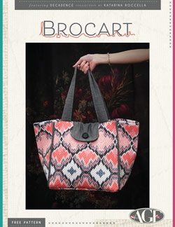 Brocart Tote Instructions by AGF Studio