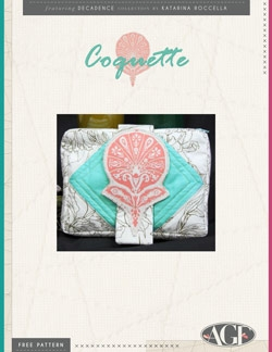 Coquette Clutch Instructions by AGF Studio