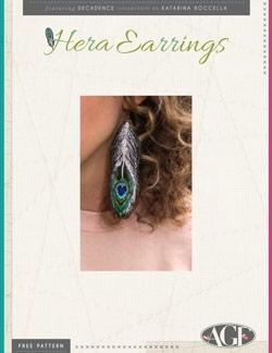 Hera Earrings Instructions by AGF Studio