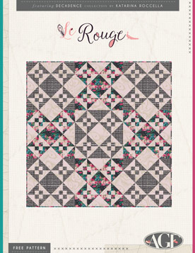 Le Rouge Quilt by AGF Studio