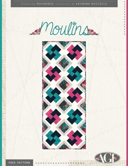 Moulins Table Runner Instructions by AGF studio