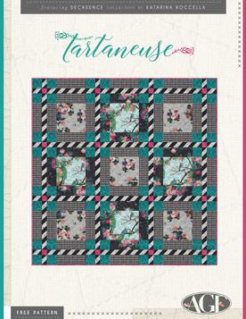Tartaneuse Quilt by Katarina Roccella