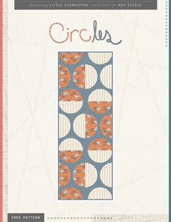 Circles Table Runner Instructions by AGF Studio