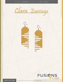 Clara Earrings Instructions by AGF Studio
