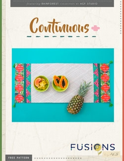 Continuous Tablerunner Instructions by AGF Studio