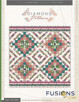 Diamond Pillars by AGF Studio