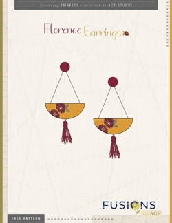 Florence Earrings Instructions by AGF Studio