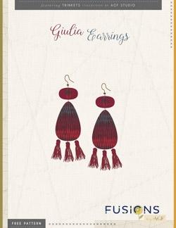 Giulia Earrings Instructions by AGF Studio
