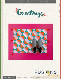 Greetings Accent Rug Instructions by AGF Studio