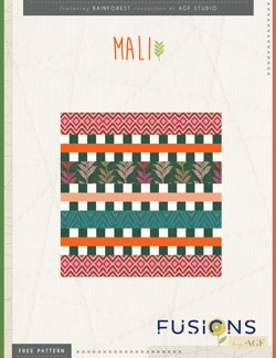 Mali Pillow Instructions by AGF Studio