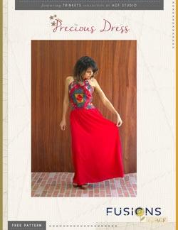 Precious Dress Instruction by AGF Studio