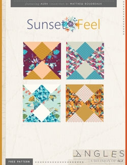 Sunset Feel Block Instructions by AGF Studio