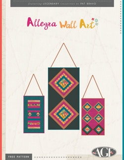 Allegra Wal Art Instructions by AGF Studio