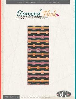Diamond Fleck Table Runner Instructions by AGF Studio