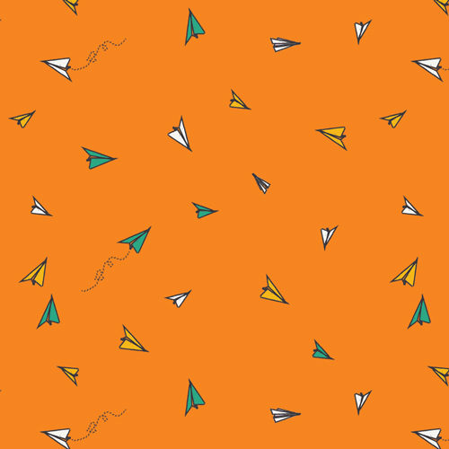 SSU-20055 Paper Plane Dreams - Art Gallery Fabrics