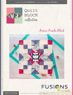 Arrow Points Block Instructions by AGF Studio