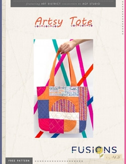 Artsy Tote Instructions by AGF Studio