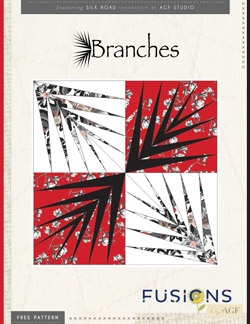 Branches Pillow Instructions by AGF Studio