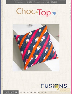 Choc Top Pillow Instructions by AGF Studio