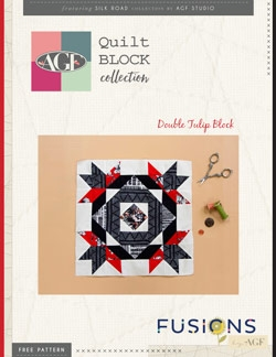 Double Tulip Quilt Block Instructions by AGF Studio