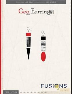Geo Earrings Instructions by AGF Studio
