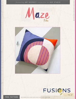 Maze Pillow Instructions by AGF Studio