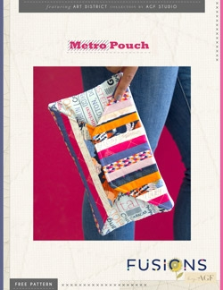 Metro Pouch Instructions by AGF Studio