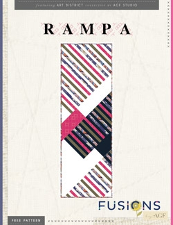 Rampa Tablerunner Instructions by AGF Studio