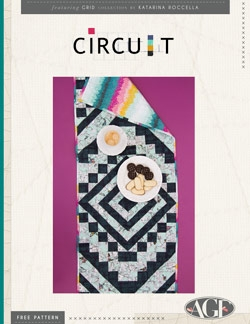 Circuit Table Runner Instructions by AGF Studio