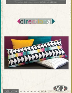 Directional Pillow Instructions by AGF Studio