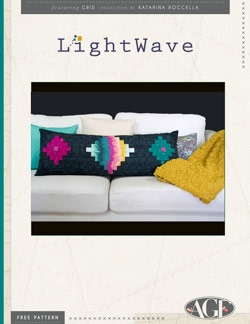 Lightwave Pillow Instructions by AGF Studio