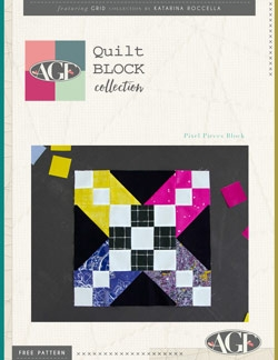 Pixel Pieces Block Instructions by AGF Studio