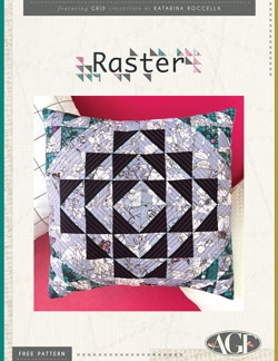 Raster Pillow Instructions by AGF Studio